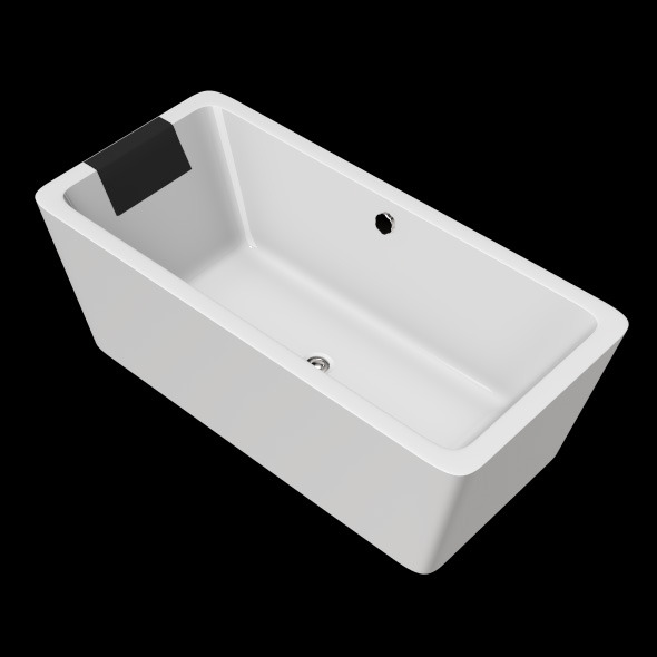3DOcean Freestanding Modern Bathtub No 11 11039241