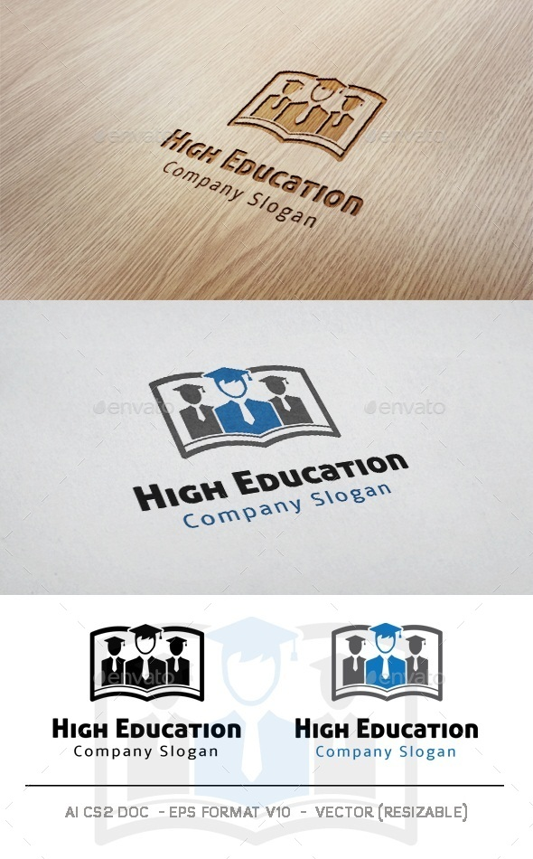 GraphicRiver High Education Logo 11039400