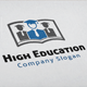 High Education Logo - GraphicRiver Item for Sale