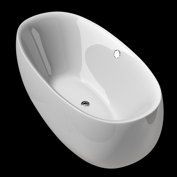 Freestanding, Modern Bathtub_No_13 - 3DOcean Item for Sale