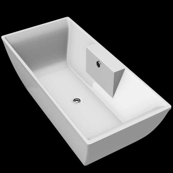 3DOcean Freestanding Modern Bathtub No 14 11039476