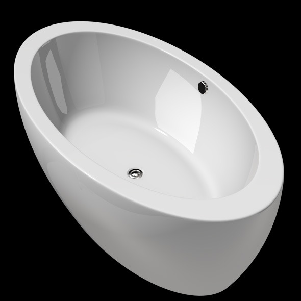 3DOcean Freestanding Modern Bathtub No 16 11039542