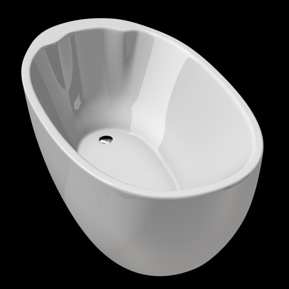 3DOcean Freestanding Modern Bathtub No 18 11039567