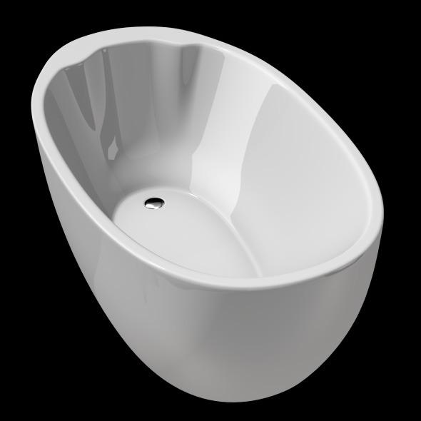 Freestanding, Modern Bathtub_No_18 - 3DOcean Item for Sale