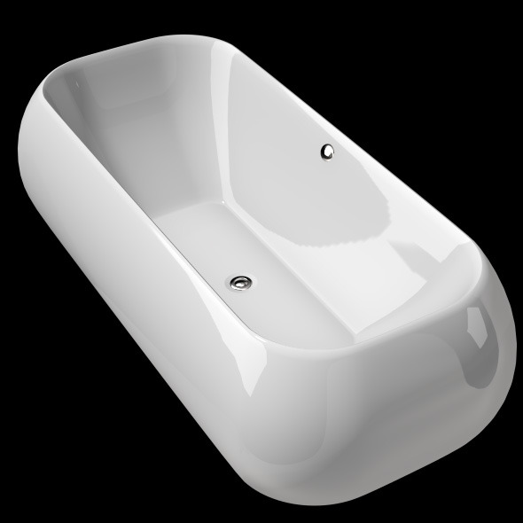 3DOcean Freestanding Modern Bathtub No 19 11039584