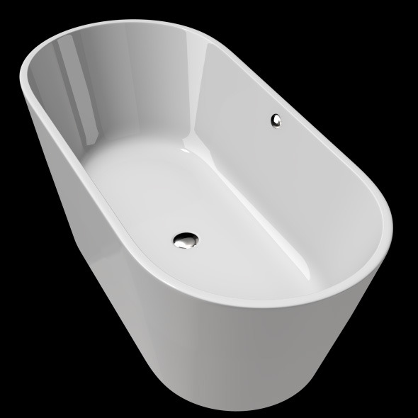 3DOcean Freestanding Modern Bathtub No 23 11039728