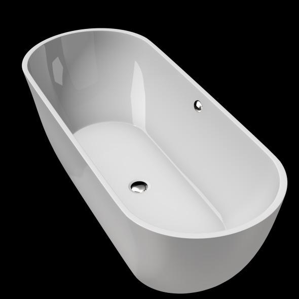3DOcean Freestanding Modern Bathtub No 24 11039733