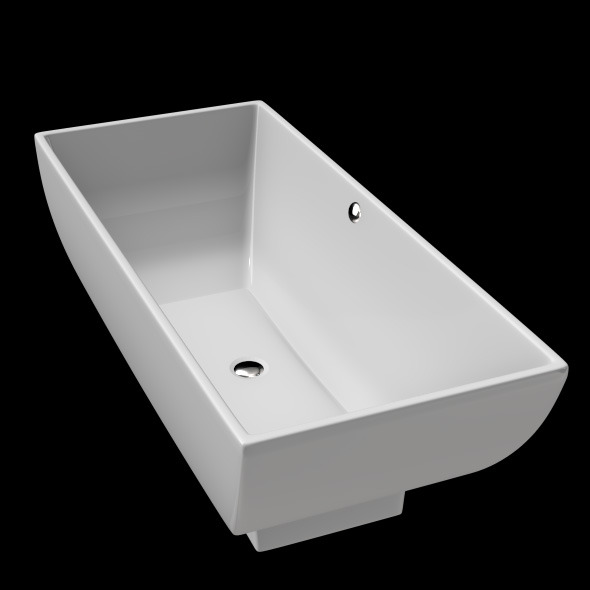 3DOcean Freestanding Modern Bathtub No 25 11039740