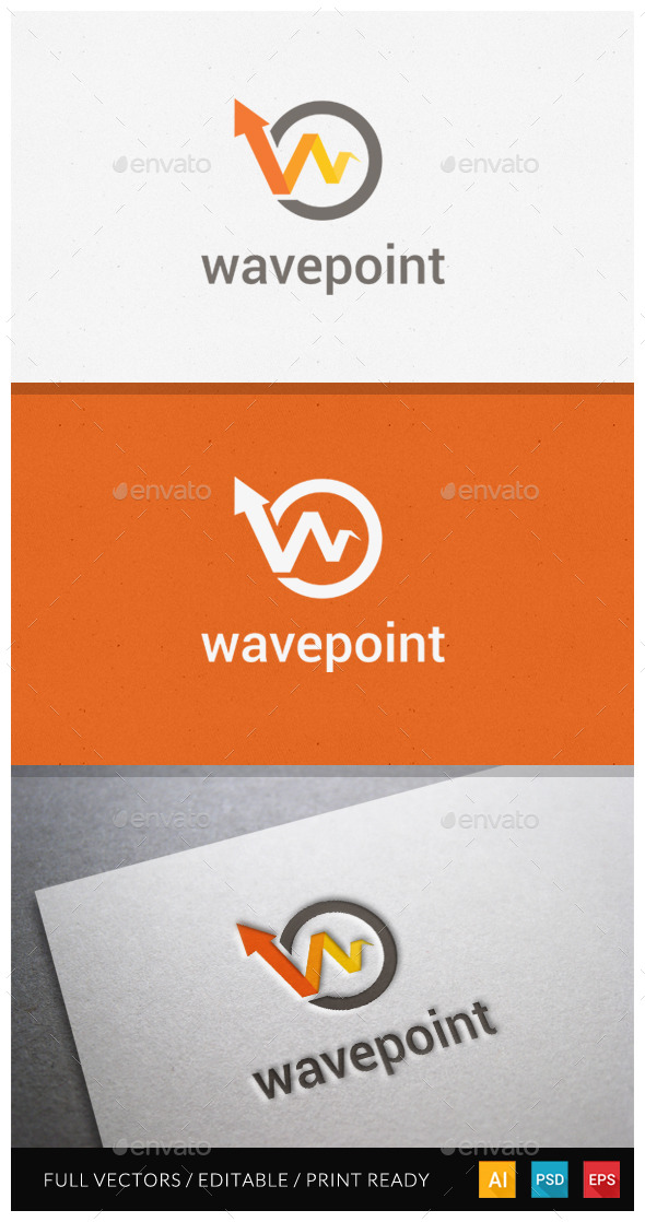 GraphicRiver Wavepoint Logo Template 11039751