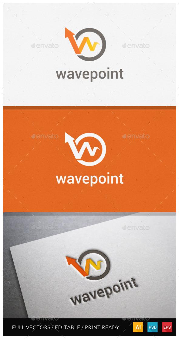 GraphicRiver Wavepoint Logo Template 11039751