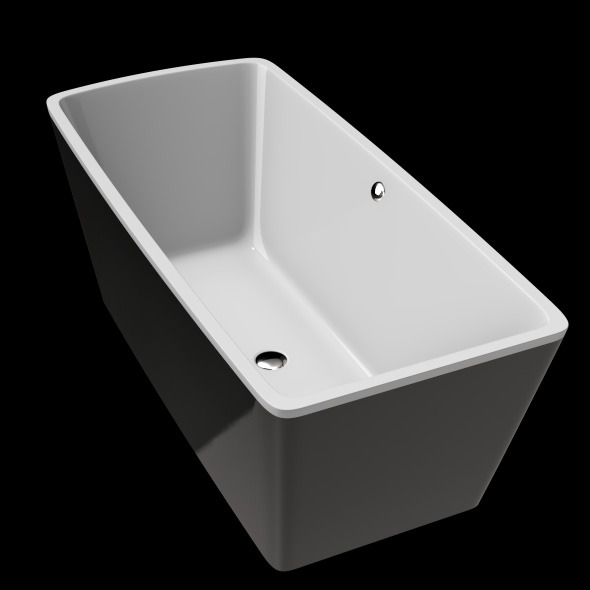 3DOcean Freestanding Modern Bathtub No 26 11039757