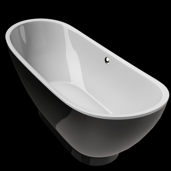 Freestanding, Modern Bathtub_No_27 - 3DOcean Item for Sale