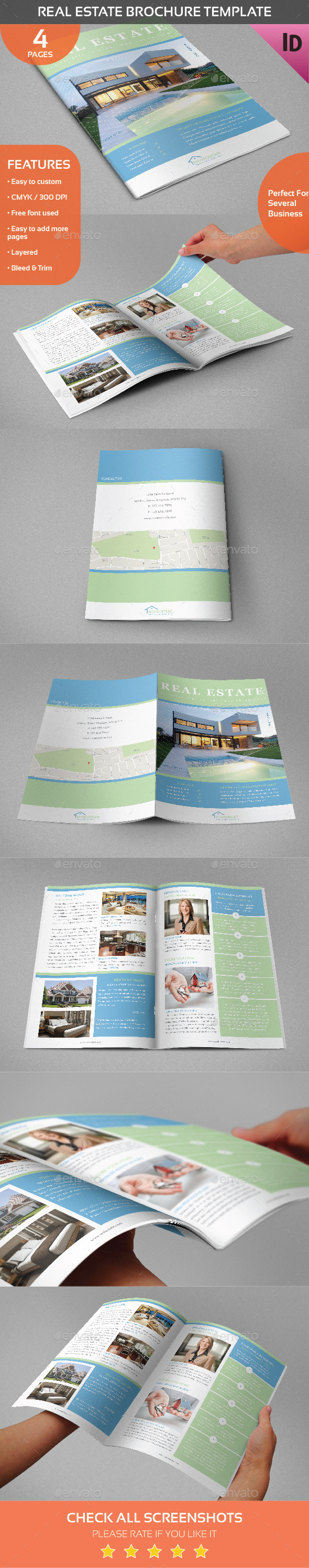GraphicRiver Real Estate Brochure Template 11004611