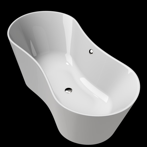 3DOcean Freestanding Modern Bathtub No 29 11039806