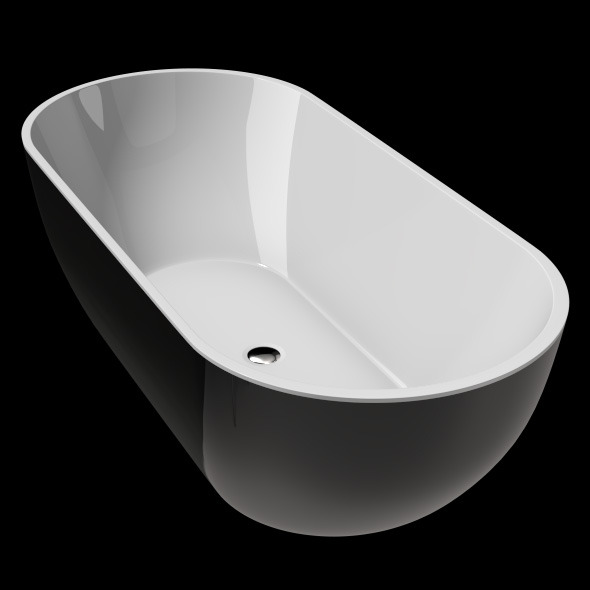Freestanding, Modern Bathtub_No_30 - 3DOcean Item for Sale