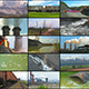 Media Wall: Industry and Pollution - VideoHive Item for Sale