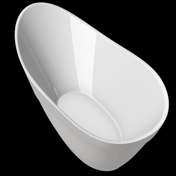 3DOcean Freestanding Modern Bathtub No 32 11039938
