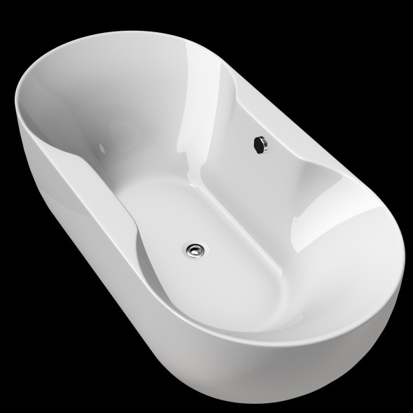 Freestanding, Modern Bathtub_No_34 - 3DOcean Item for Sale