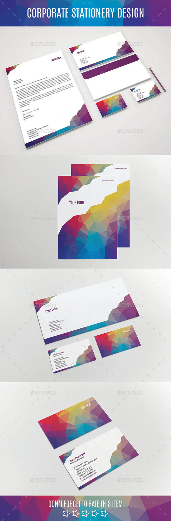 GraphicRiver Corporate Stationery Design 11040130