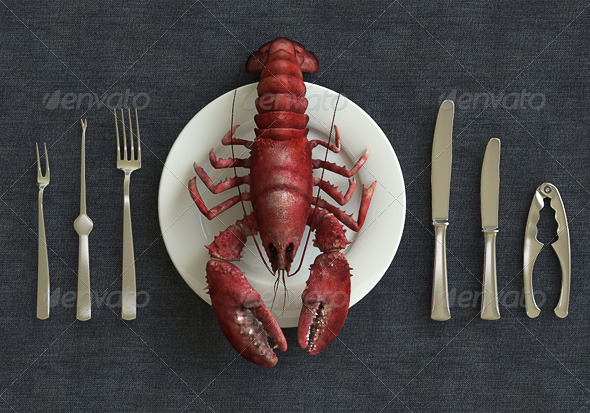 Ocean Lobster - 3DOcean Item for Sale