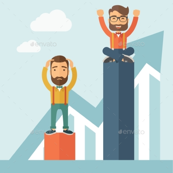 GraphicRiver Two Businessmen 11040401