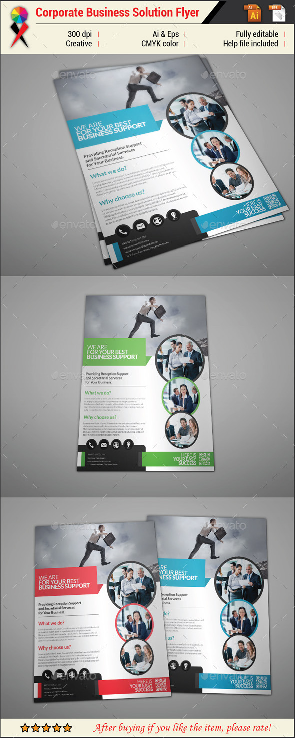 GraphicRiver Professional Creative Business Flyer 11040510