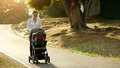 Woman Mother Mom With Toddler in Pushchair Walking In Park - PhotoDune Item for Sale