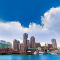 Boston Massachusetts skyline from Fan Pier - PhotoDune Item for Sale