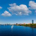 Boston Harvard Bridge in Charles river - PhotoDune Item for Sale