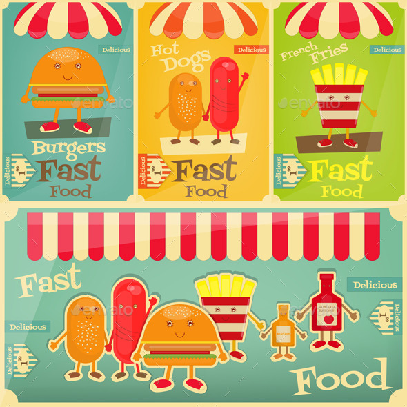 GraphicRiver Fast Food Menu 11041153
