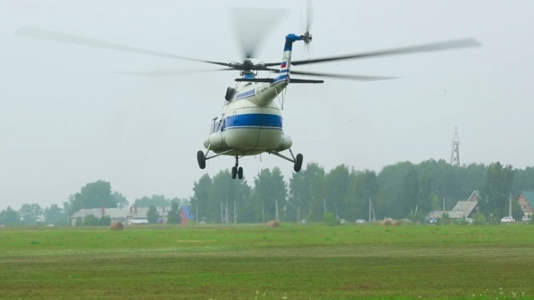 VideoHive Helicopter Take-off 11041484