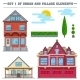 Village Buildings - GraphicRiver Item for Sale