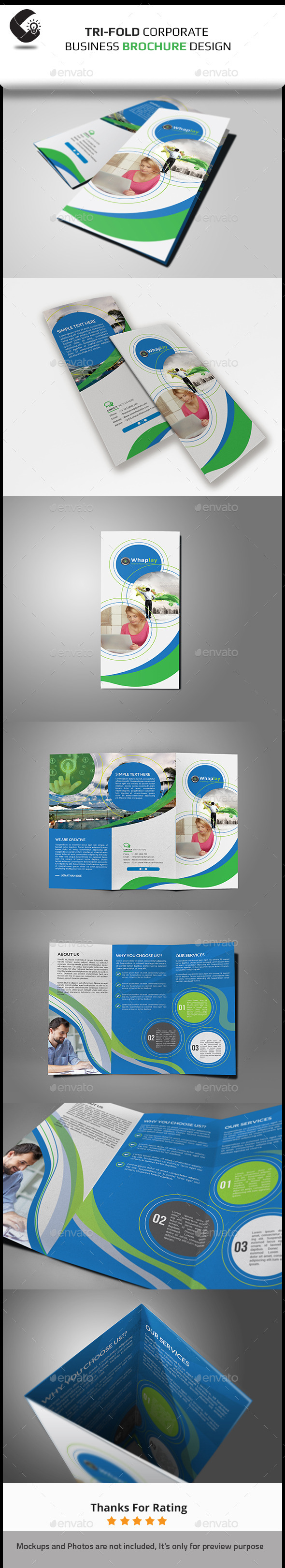 GraphicRiver Creative Tri-fold Brochure 11041538