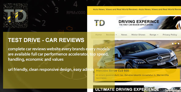 CodeCanyon Test Drive Car reviews 11033419