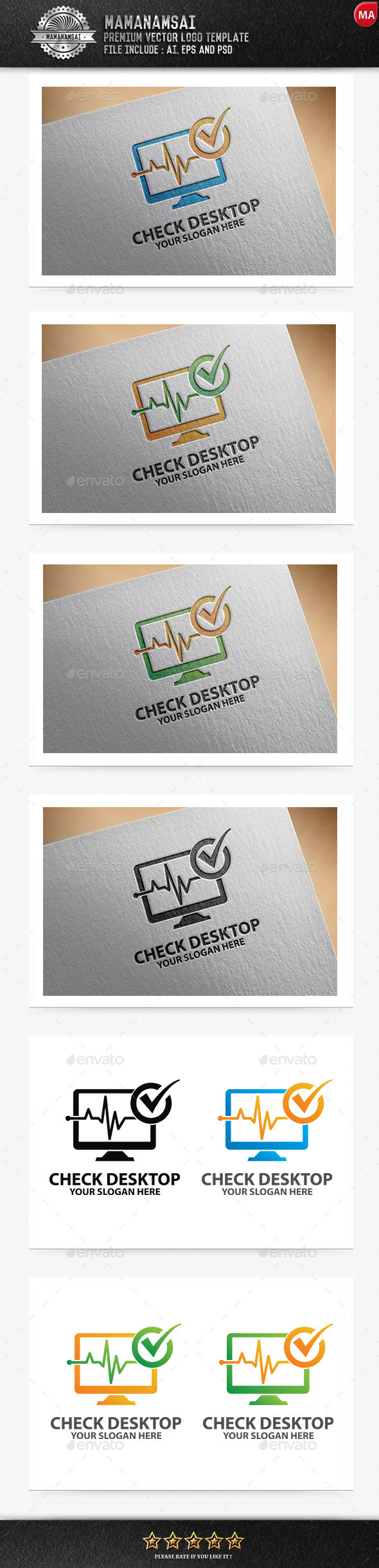 GraphicRiver Check Desktop Logo 11041884