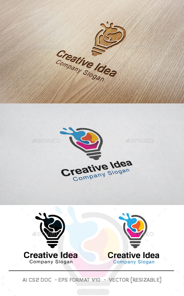 GraphicRiver Creative Idea Logo 11042157
