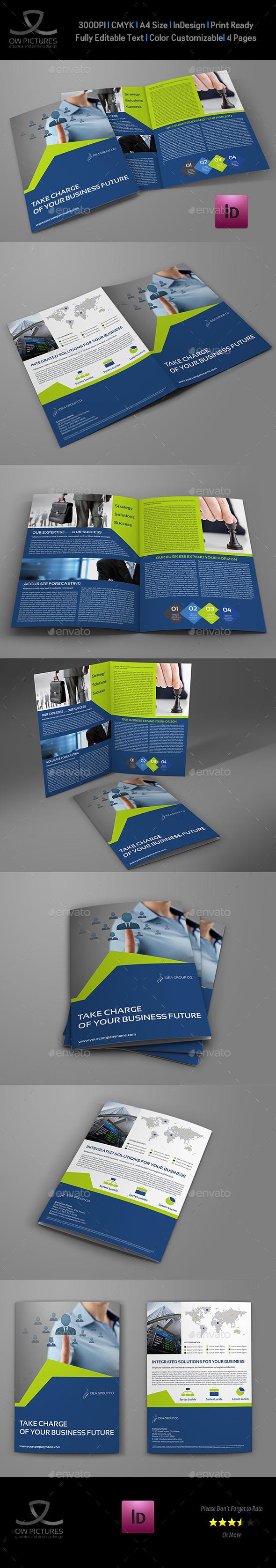GraphicRiver Company Brochure Bi-Fold Template Vol.40 11042467
