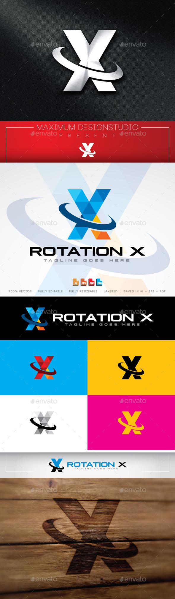 GraphicRiver Rotation X Logo 11042735