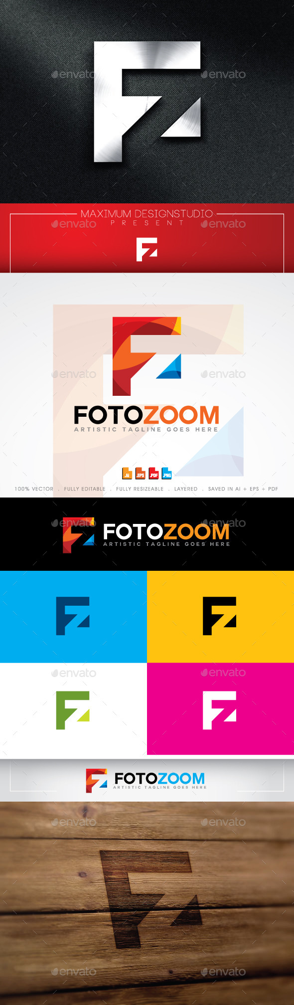 GraphicRiver Foto Zoom Logo 11042758