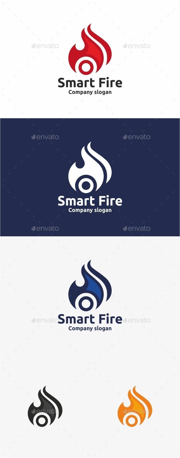 GraphicRiver Smart Fire Logo Template 11043324