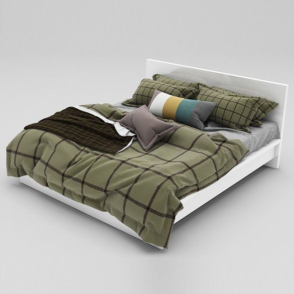Bed 34 - 3DOcean Item for Sale