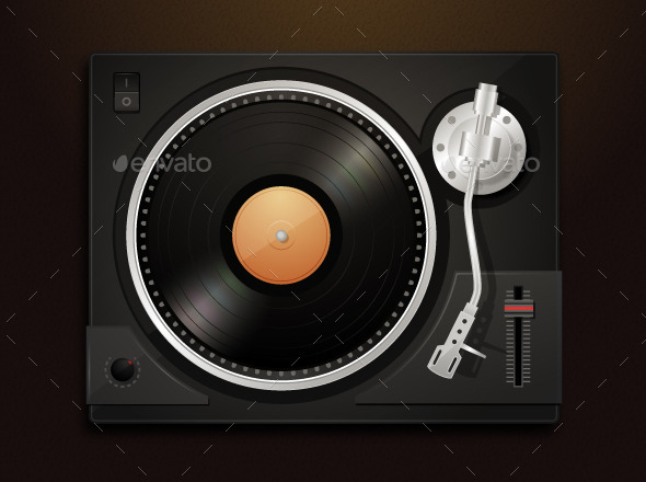 GraphicRiver Turntable 11043437