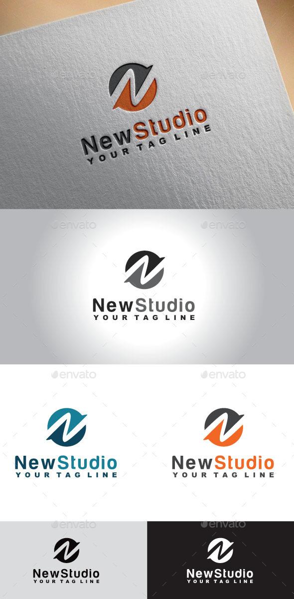 GraphicRiver Letter N Logo 11043470