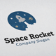 Space Rocket Logo - GraphicRiver Item for Sale