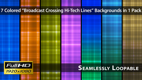 Broadcast Crossing Hi-Tech Lines Pack 01