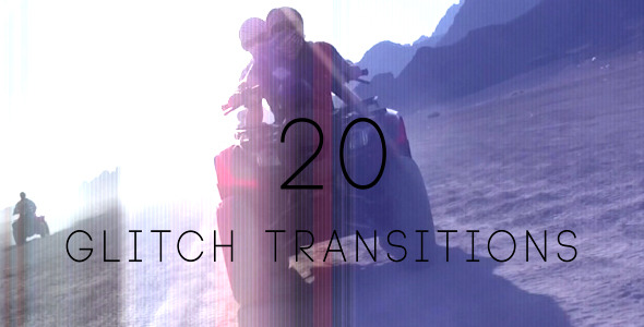 Glitch Transitions 20-Pack