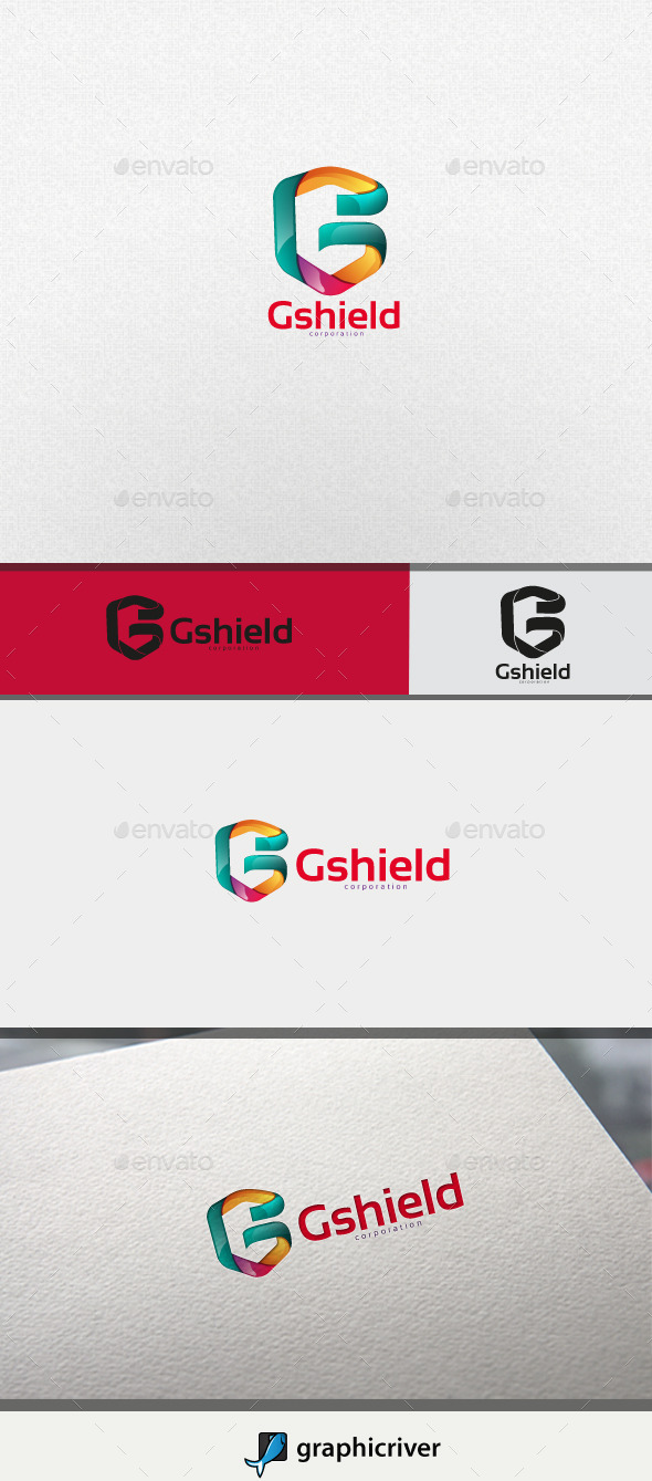 GraphicRiver Gshield Letter G 11044953