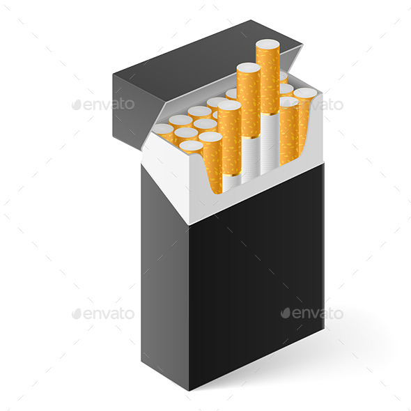 GraphicRiver Pack of Cigarettes 11044993