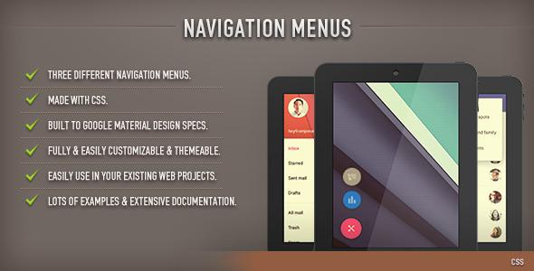 Navigation Menus (CSS)