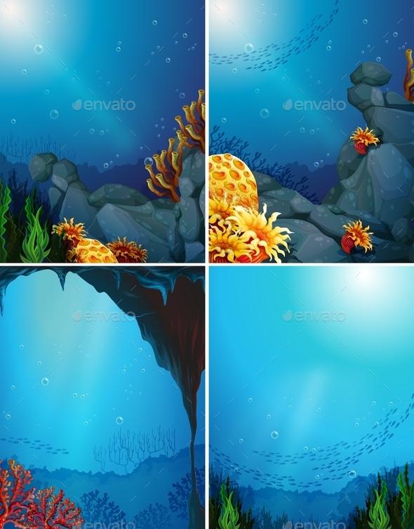 GraphicRiver Coral Reef 11045419